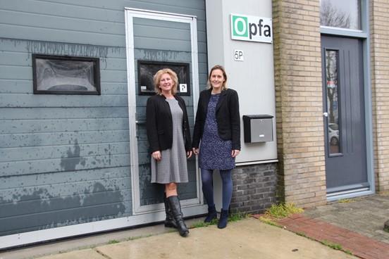 Nadine Pasterkamp en Yvonne Hooiveld